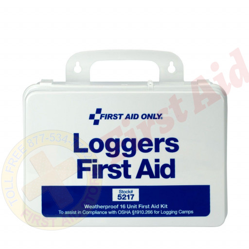 The First Aid Only® Logger First Aid Kit - Plastic