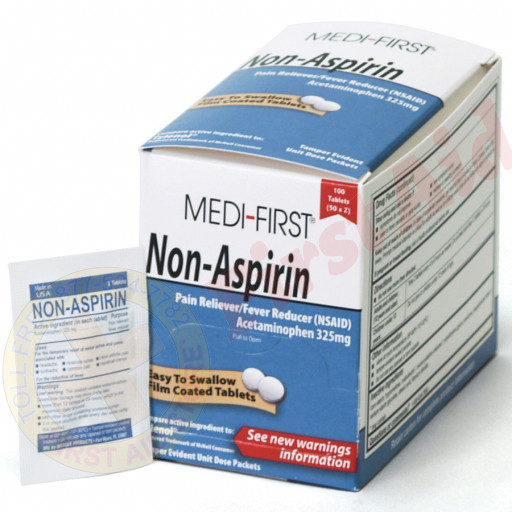 The Medi-First Non-Aspirin, 100/box