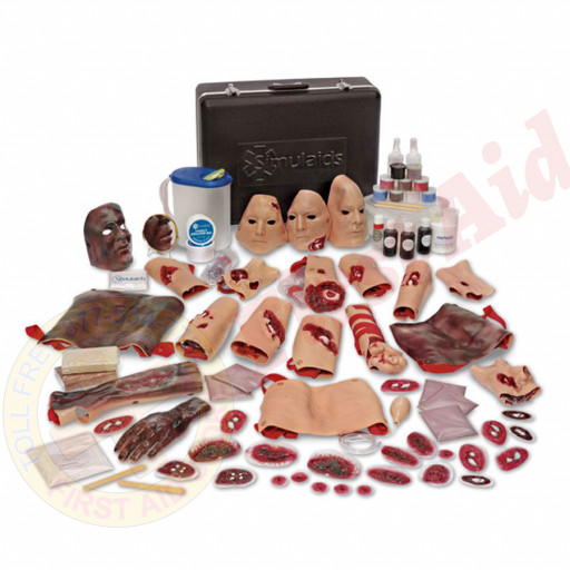 The Simulaids E.M.T. Casualty Simulation Kit