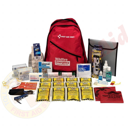 The 2 Person Emergency Preparedness Backpack Wildfire
