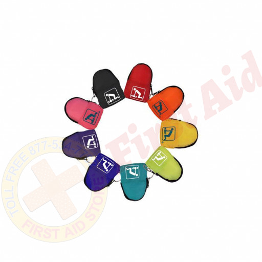 The American CPR Training™ 1000 Pk Assorted Colors-CPR Beltloop/KeyChain BackPack