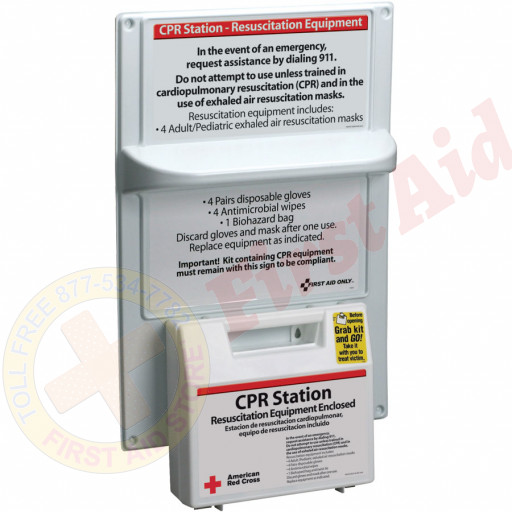 The American Red Cross CPR Station: 9145-RC