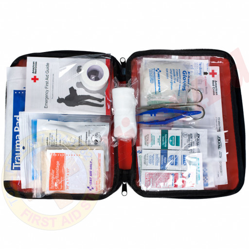 The American Red Cross Be Red Cross Ready First Aid Kit