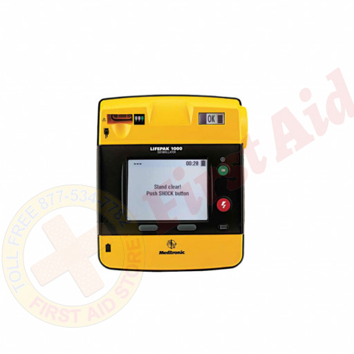 The Physio LIFEPAK 1000 defibrillator – ECG Display, 3-wire