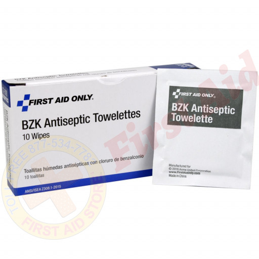 These antiseptic cleansing wipes, with the active ingredient Benzalkonium Chloride, are ideal for cleansing wounds when alcohol is inadvisable