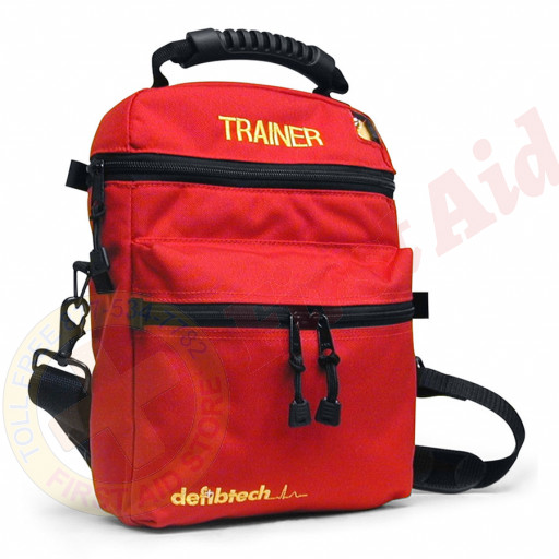 The Defibtech AED Trainer Soft Carrying Case