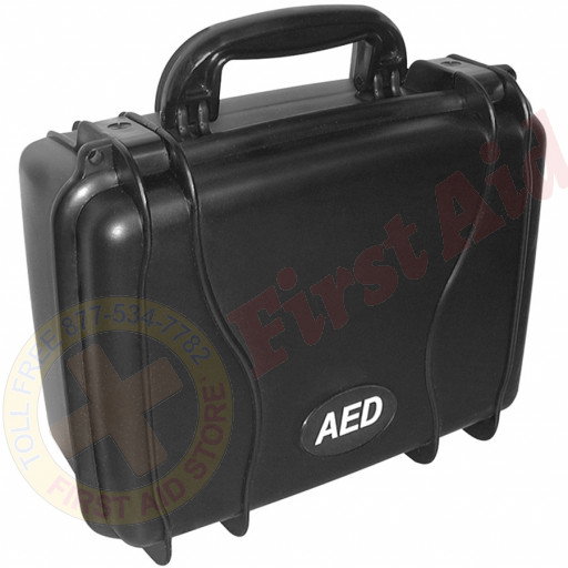 The Defibtech Standard Hard Carrying Case - Black