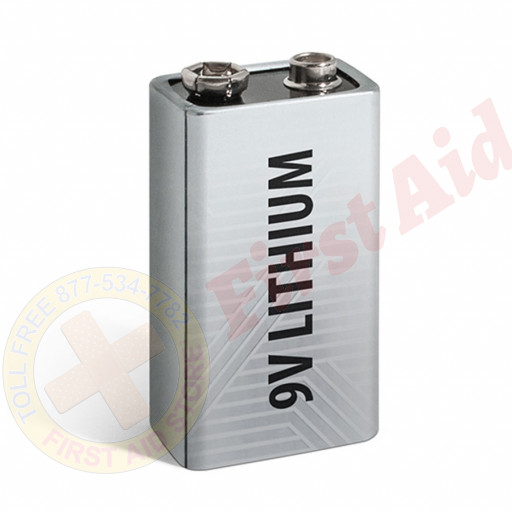 The Defibtech 9V Lithium Battery