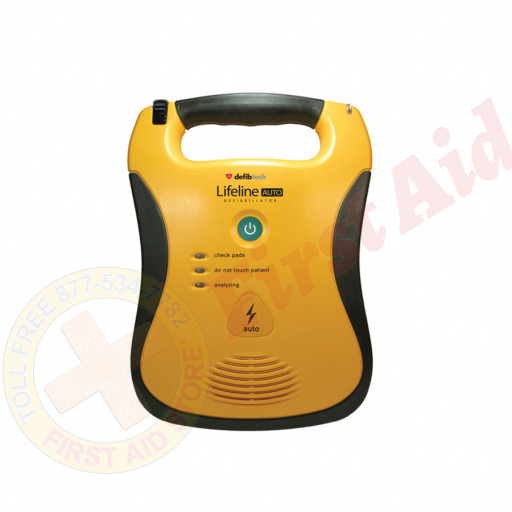 The Defibtech AUTO AED - 7 year battery