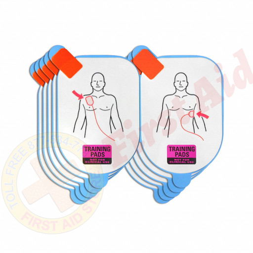 The Defibtech Adult Training Pads, 5 pack (pads only)