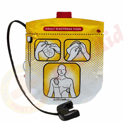 The Defibtech Lifeline AED Pediatric Defibrillation Electrode Pads