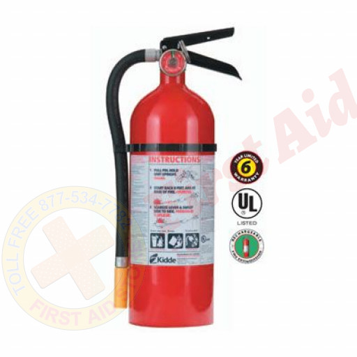 The MayDay Industries Emergency Gear 5 lbs. Heavy Duty Plus Fire Extinguisher