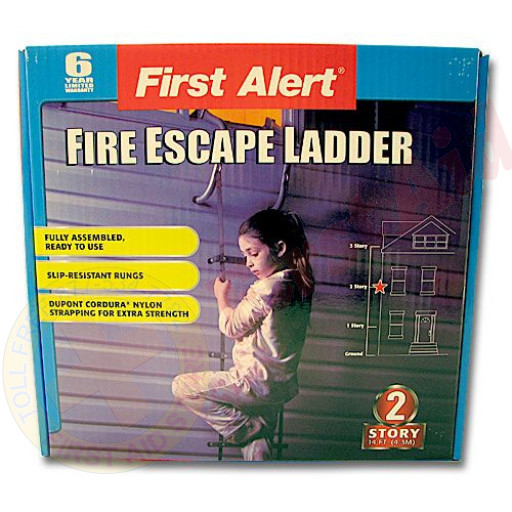 The MayDay Industries Emergency Gear Fire Ladder - 2 Story - 13 Feet