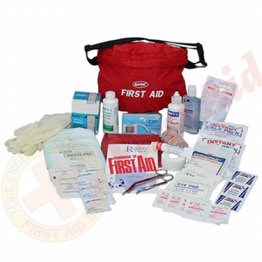The MayDay Brand The Guardian First Aid Kit, 48 Piece