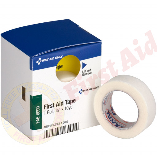 "The First Aid Only® ½"" x 10 Yd. First Aid Tape, 1 Each - SmartTab EzRefill"