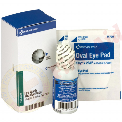 The First Aid Only® Eye Care Kit - SmartTab EzRefill