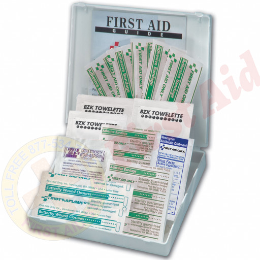 The First Aid Only® All Purpose First Aid Kit, 21 Pieces - Mini