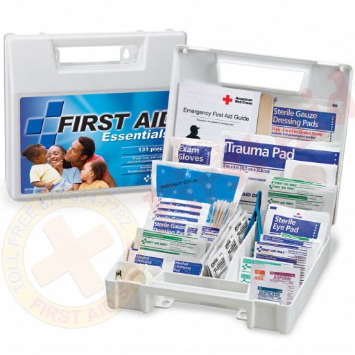 The First Aid Only® All Purpose First Aid Kit, 131 Pieces - Large
