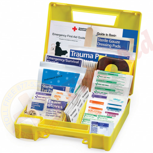 The First Aid Only® Auto First Aid Kit, 138 Pieces - Large