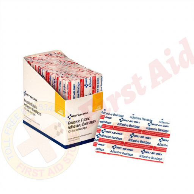 The Knuckle Bandage, Fabric - 100 Per Box