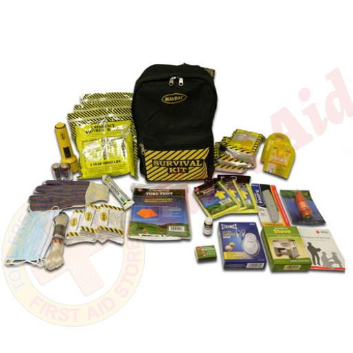 The MayDay Brand 3 Person Deluxe Emergency Backpack Kit