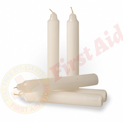The MayDay Industries Emergency Gear Slow Burn Emergency Candles - 5 Pack
