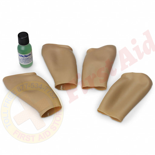 The Life/form® Intraosseous Infusion Simulator - Skin Replacement Kit