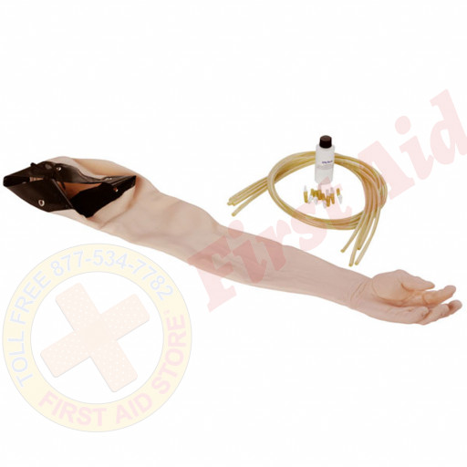 The Life/form® Advanced Injection Arm: Skin and Vein Replacement Kit - White