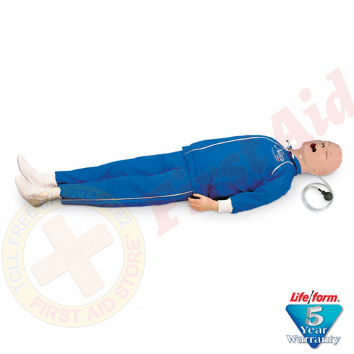 "The Life/form® Full Body ""Airway Larry"" Airway Mannequin w/o Electronics"
