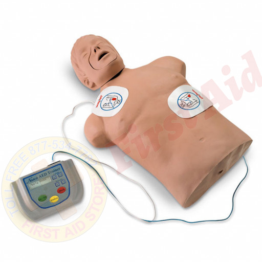 The NASCO AED Trainer with Brad