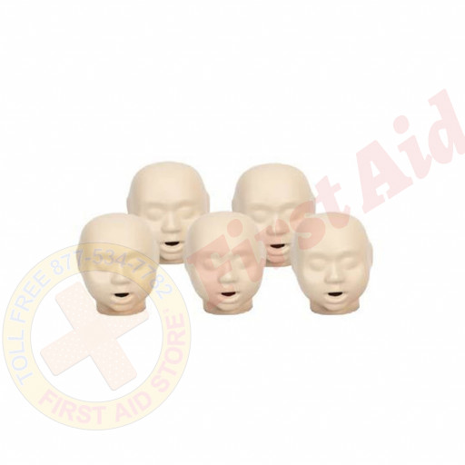 The CPR Prompt™ 5-pack Infant Heads - Tan