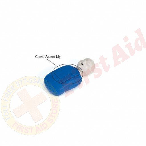 The CPR Prompt™ Coated Infant Chest Assembly - Blue