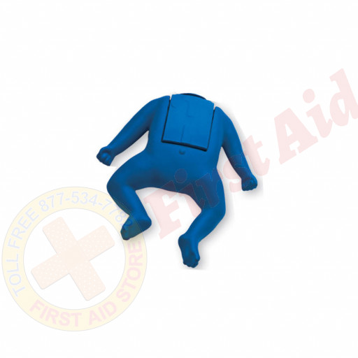The CPR Prompt™ Coated Infant Mannequin Assembly - Blue