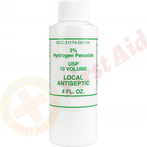 The First Aid Store™ Hydrogen Peroxide 3%, 4 oz. - 1 Each