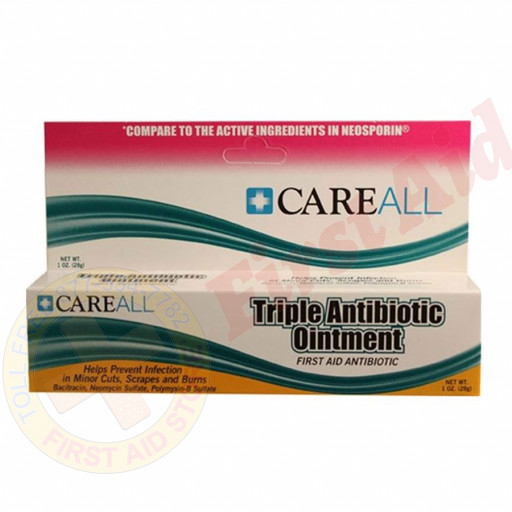 The First Aid Only® Triple Antibiotic Ointment, 1 oz. Tube - 1 Each