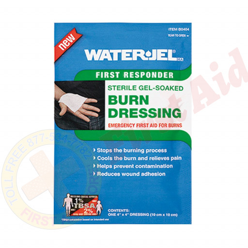 "The Water Jel® Burn Dressing, 4""x4"""