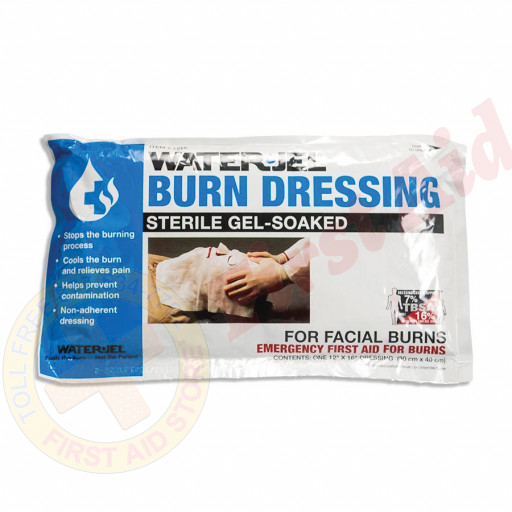 "The Water Jel®  Facial Burn Dressing, 12""x16"""