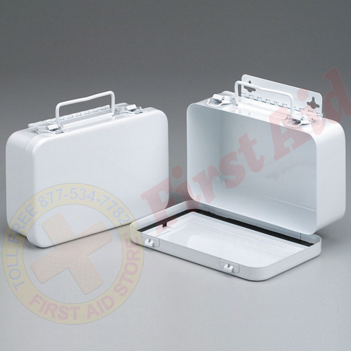 The First Aid Store™ Empty Metal Case, 10 Unit w/ Gasket