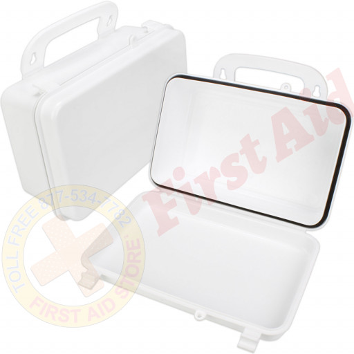 The First Aid Store™ Empty Polypropylene Case w/ Gasket - 10 Unit