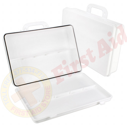 The First Aid Store™ Empty Polypropylene Case w/ Gasket - 36 Unit
