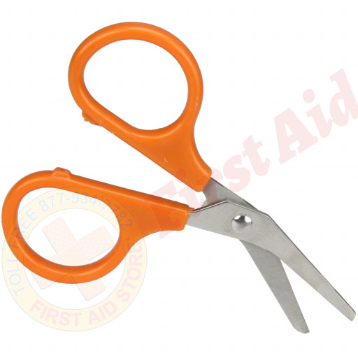 "The First Aid Store™ Kit Scissors - 4"" - Angled Blades - 1 Each"
