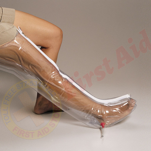 The First Aid Store™ Splint, Inflatable Air - Full Leg