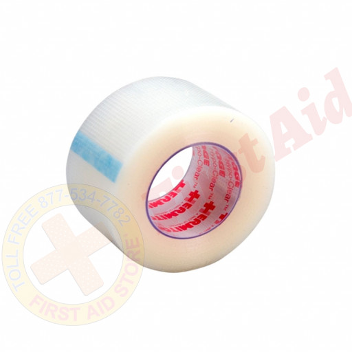 """The First Aid Store™  First Aid Tape - Hypoallergenic Clear 1"""" - 12 Per Box"""