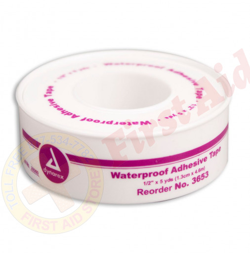 "The 1/2"" x 5 yd. Waterproof Tape - Plastic Spool - 1 Each"