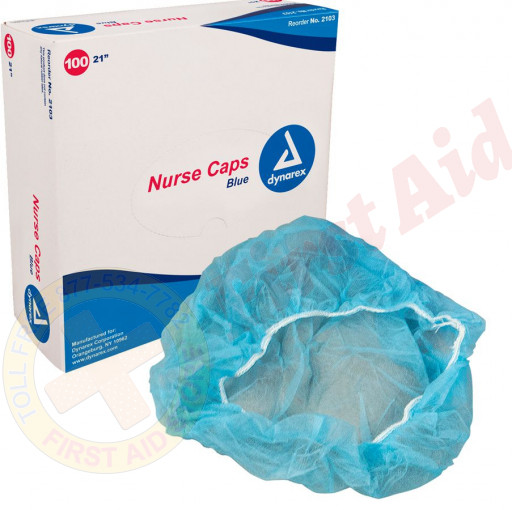 The First Aid Store™ Disposable Bonnet - 100 Per Case