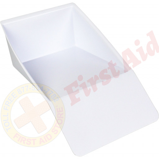 The First Aid Store™ Biohazard Scoop and Scraper (White) - 1 Each