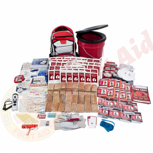 The Guardian Survival Gear 10 Person Guardian Deluxe Survival Kit