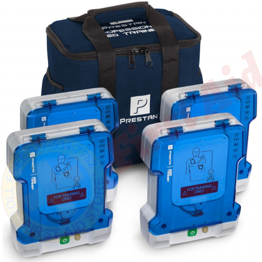 The Prestan™ Professional AED Trainer, 4 Pack