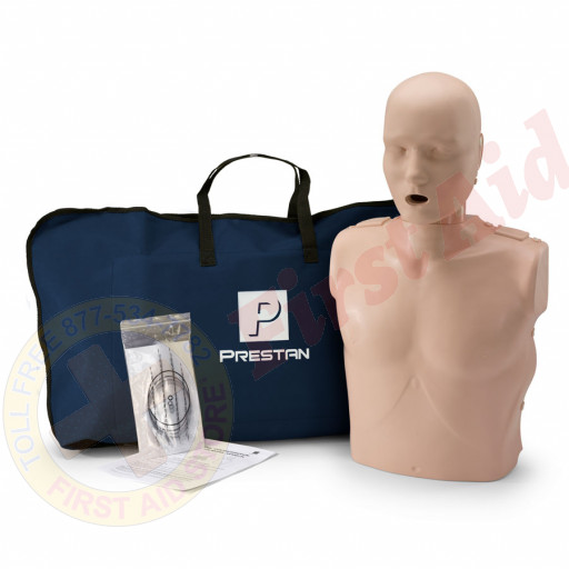 The Prestan™ Adult CPR Mannequin w/o Monitor - Medium Skin