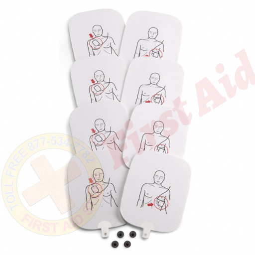 The Prestan™ Professional AED Trainer Pads, 4 Pack